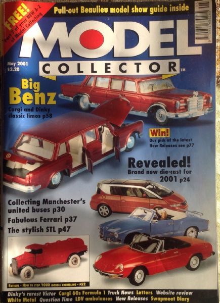 ORIGINAL MODEL COLLECTOR MAGAZINE May 2001